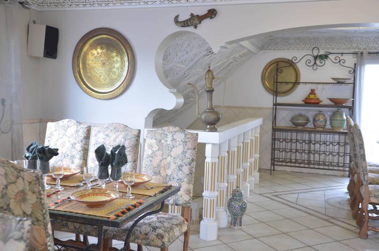Restaurant Marocain La Fantasia a Pringy -Saint Fargeau Seine et Marne 77-salle